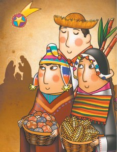 Bolivian Christmas cards available