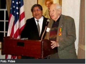 A Bolivian war hero: Hugo Pinedo, honored in Washington DC