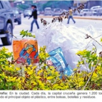 What to do with all the polluting plastic bags in Bolivia?