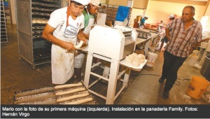 A Bolivian inventor, Mario Rodas patented machines to make bread