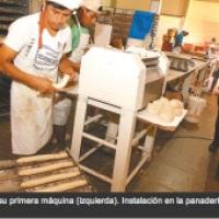 A Bolivian inventor, Mario Rodas patented machines to make bread