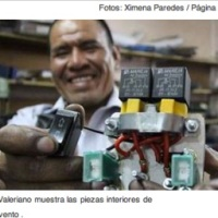 Bolivian ingenuity! Need better laws and funding channels to promote people like Yuri Valeriano!