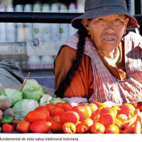 A Bolivian myth: Could an angry person prepare a spicier llajua?