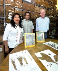 FOTOS: ÁLVARO VALERO / PÁGINA SIETE Y CORTESÍA INVESTIGADORES DEL ESTUDIO. Los investigadores Rosa Isela Meneses, Alfredo Fuentes y Stephan Beck.
