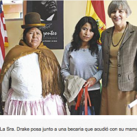 "Mary Drake: ""There are 1,068 Bolivians studying in the US"""