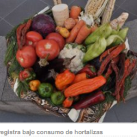 Bolivia has low consumption of vegetables