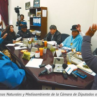 Indigenous of the TIPNIS declared themselves in alert because of a change in the law
