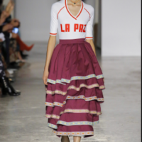 Bolivian Cholitas' wrestlers impact Milan Fashion Week!