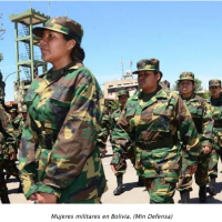 Bolivian Women are summoned for the first time to a year's military service