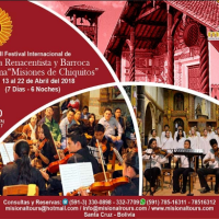 Baroque Music Revives in Bolivia's Chiquitania