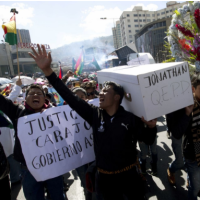 Protests in Bolivia spread after death of college student