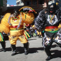 Angels and devils battle it out at Bolivian festival: Señor del Gran Poder [Lord of the Great Power]