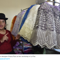 CAN ELIANA PACO MAKE TRADITIONAL BOLIVIAN ATTIRE CHIC?