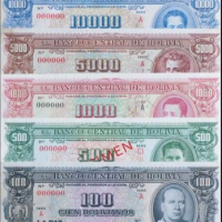 Bolivian money 101: What was the first banknote of Bolivia?