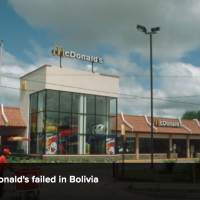 In Bolivia: why Burger King and NOT McDonald's?!