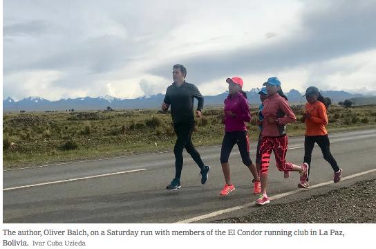 Running in Bolivia