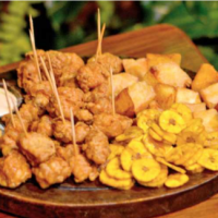 National exotic food for extravagant tastes