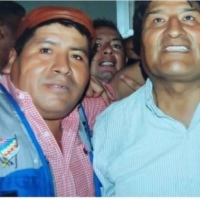 Narcs deciding violent acts against Bolivian people