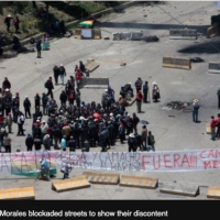 Bolivia crisis: Clashes follow President Morales' resignation - THERE WAS NO COUP D'ETAT!