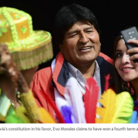 Evo Morales' power grab would be a great Netflix series. Call it 'Emperor of the Andes'