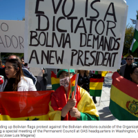 Joint Declaration on the Situation in Bolivia