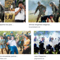 Desprecio y brutalidad contra los indígenas -  Contempt and brutality against indigenous people